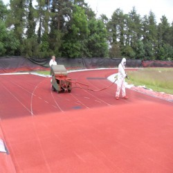 Running Track Maintenance in Ardnastang 5