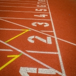 Running Track Surfaces in Acomb 2