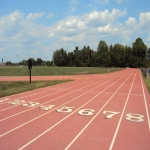 Running Track Surfaces in Longbarn 6