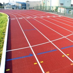 Athletics Sports Surface in Abbotstone 7