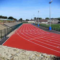 Running Track Construction in Ardnastang 3