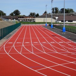 Running Track Surfaces in North Ayrshire 2