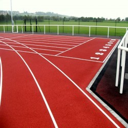 Running Track Maintenance in Scottish Borders 11