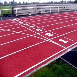 Running Track Surfaces in Acomb 9