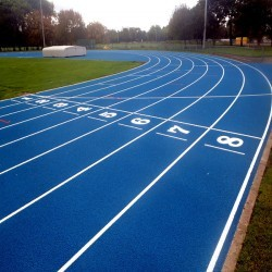 Running Track Surfaces in Longbarn 10