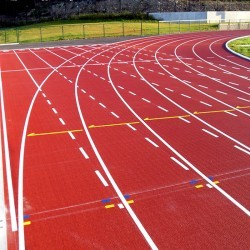 Athletics Sports Surface in Abbotstone 8