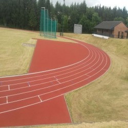 Running Track Construction in Abbot's Salford 6