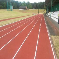 Running Track Construction in Abbot's Salford 4