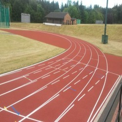 Running Track Maintenance in Scottish Borders 2