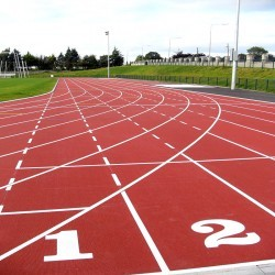 Athletics Sports Surface in Abbotstone 1