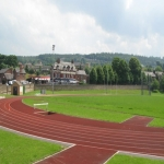 Running Track Construction in Abbot's Salford 8