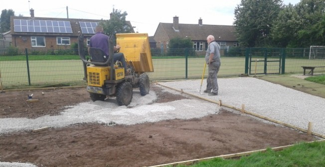 Athletics Track Construction in Appley