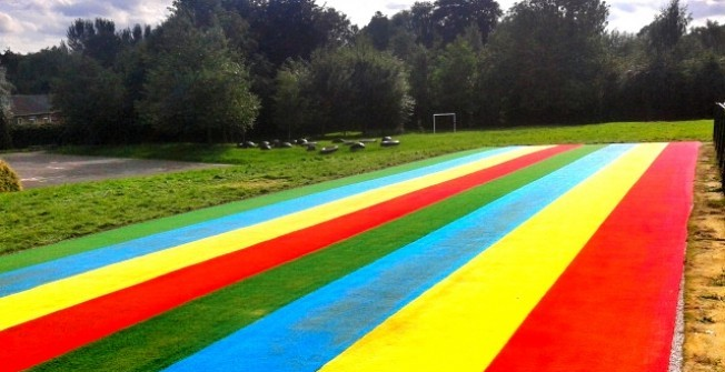 Needlepunch Athletics Surface in Staffordshire