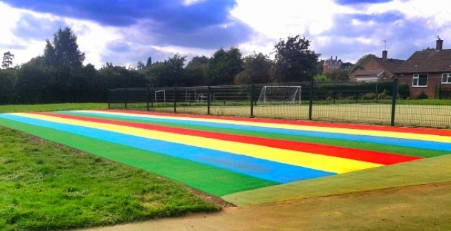Athletics Track Flooring in Abbotstone