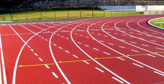 Athletics Track Installation in Cornwall