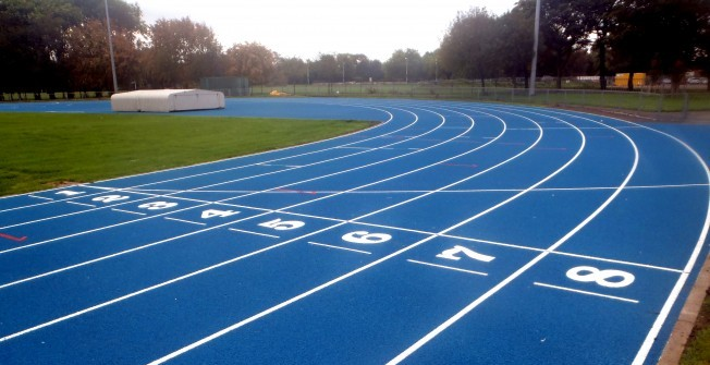 Running Track Design in Dundee City