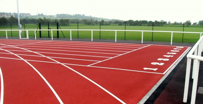 Athletics Track Resurface in Dundee City