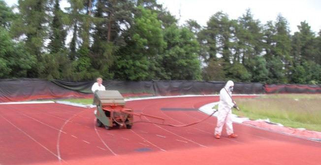 Running Track Construction in Abbot's Salford