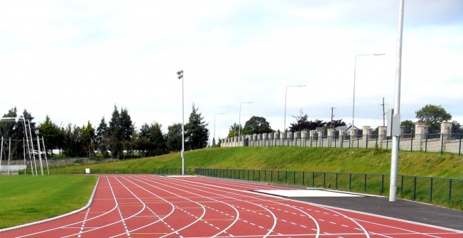 Athletics Track Relining in Shetland Islands