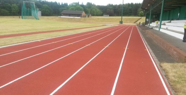 Running Surface Installation in Ardnastang